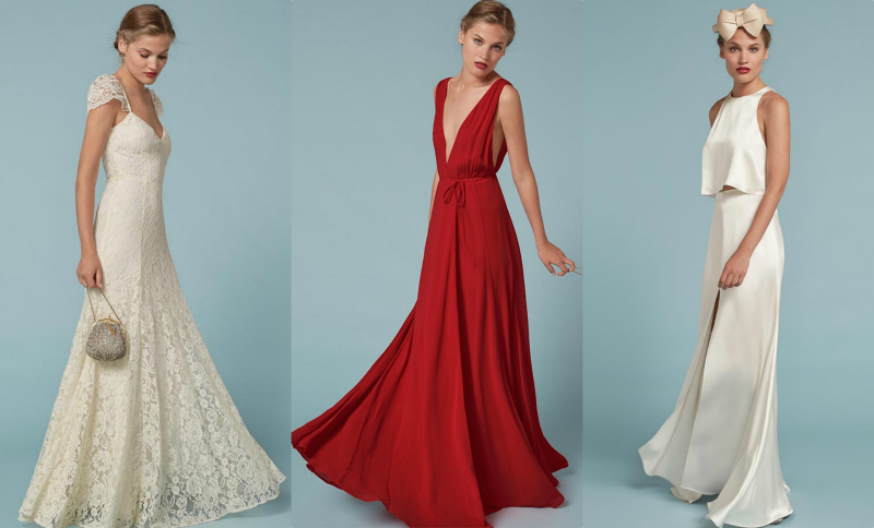 Taylor Swift's favorite clothing brand just released a bridal collection