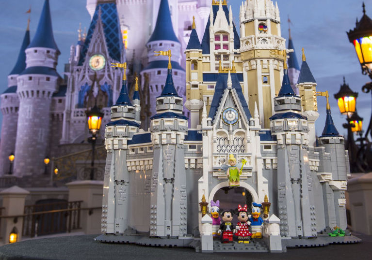 Do you wanna build a giant Lego Cinderella Castle?