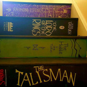 This woman made DIY book stairs and it's as awesome as it sounds