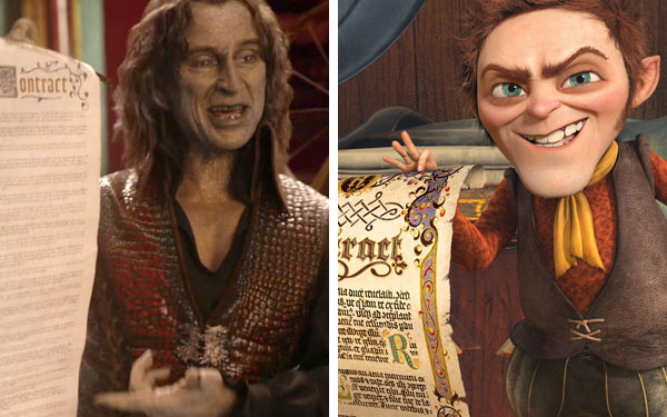 What The Quot Once Upon A Time Quot Characters Look Like Compared