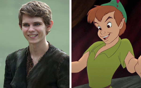 """What the """"Once Upon a Time"""" characters look like compared ..."""