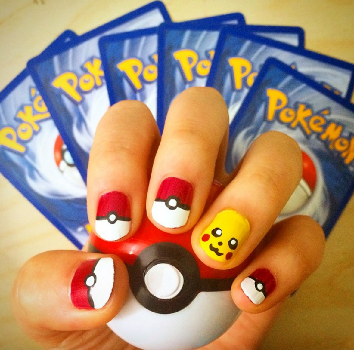 These Pokémon nail art designs make us forget all about wanting to catch 'em all