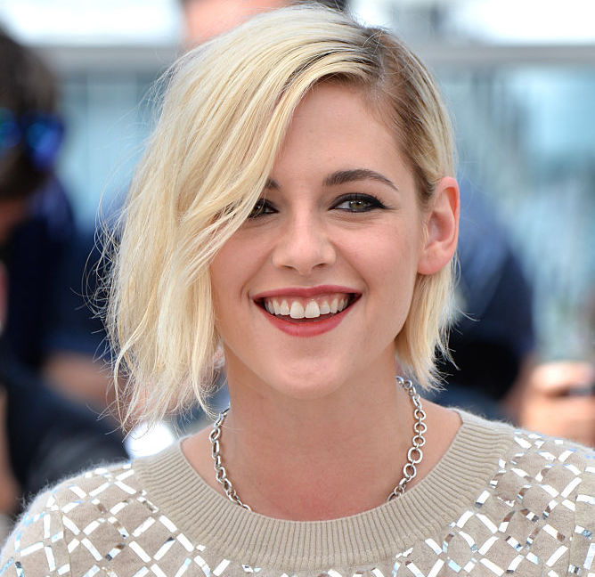 We are super inspired by Kristen Stewart's new hair and clever tattoo