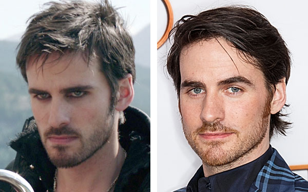 What famous eyeliner-wearing men look like...without eyeliner