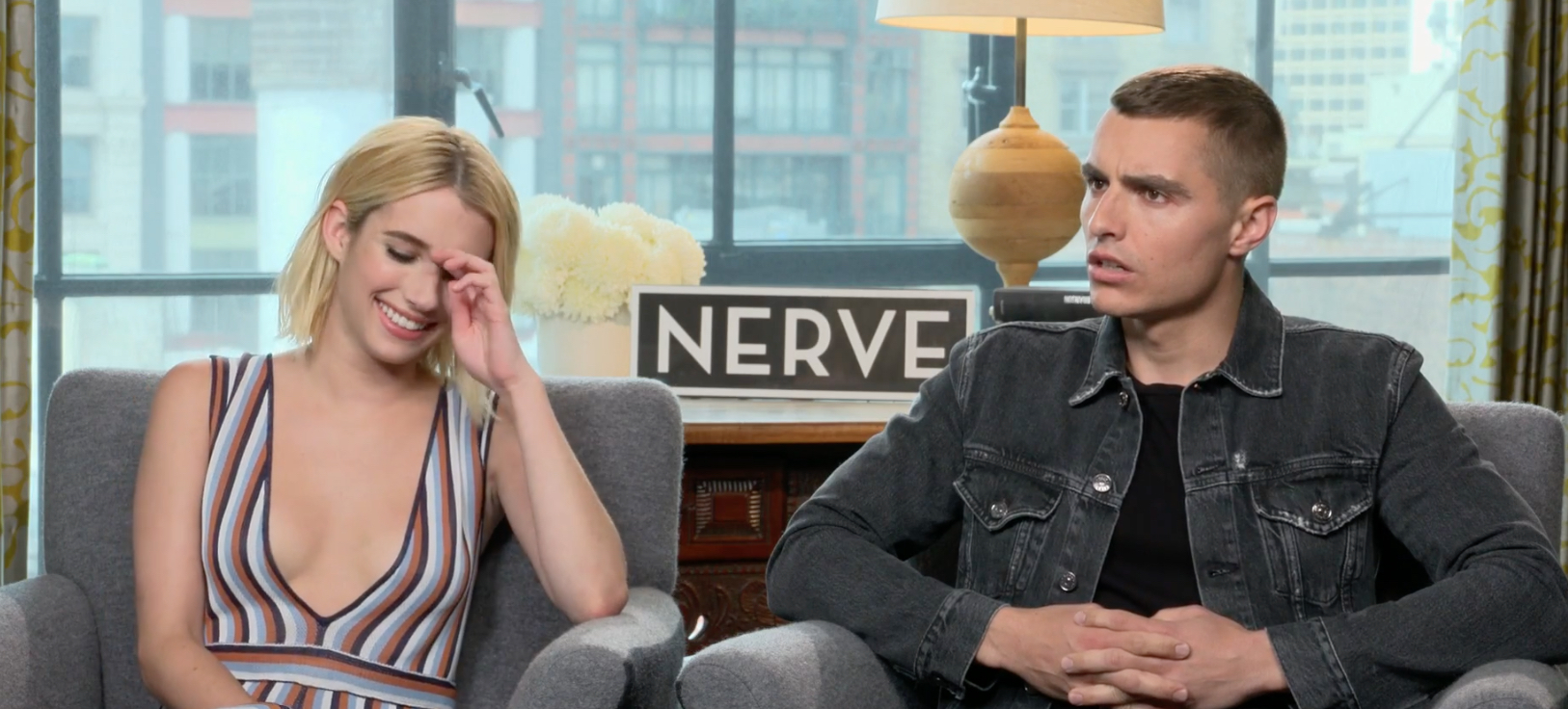 Emma Roberts and Dave Franco prank the press during the most awkward interview EVER