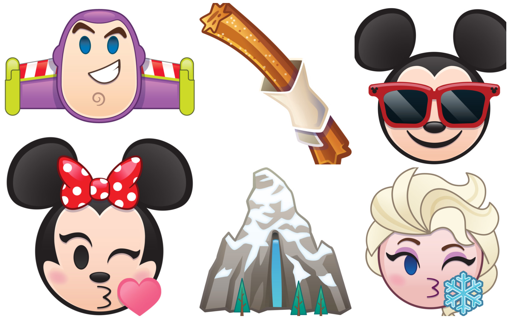 Disney's new emojis are out and there's a churro emoji because sometimes dreams come true