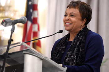 It's time to celebrate Dr. Carla Hayden, our first black woman Librarian of Congress!