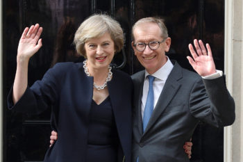 People are criticizing the new Prime Minister's husband for the best possible reason