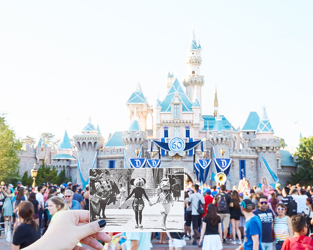 These side-by-side photos of Disneyland now and then are pure nostalgia