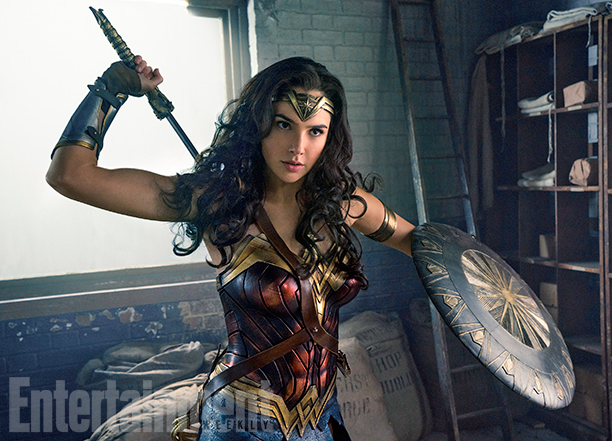 Check out these amazing new photos of Gal Gadot as Wonder Woman