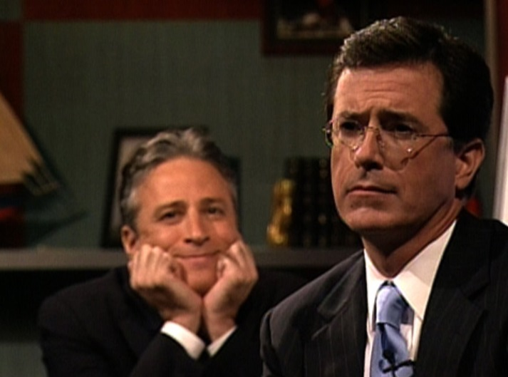 Jon Stewart and Stephen Colbert are reuniting in our hour of greatest need
