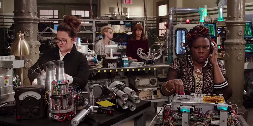 """""""Ghostbusters"""" writer Katie Dippold on THAT post-credit tease"""