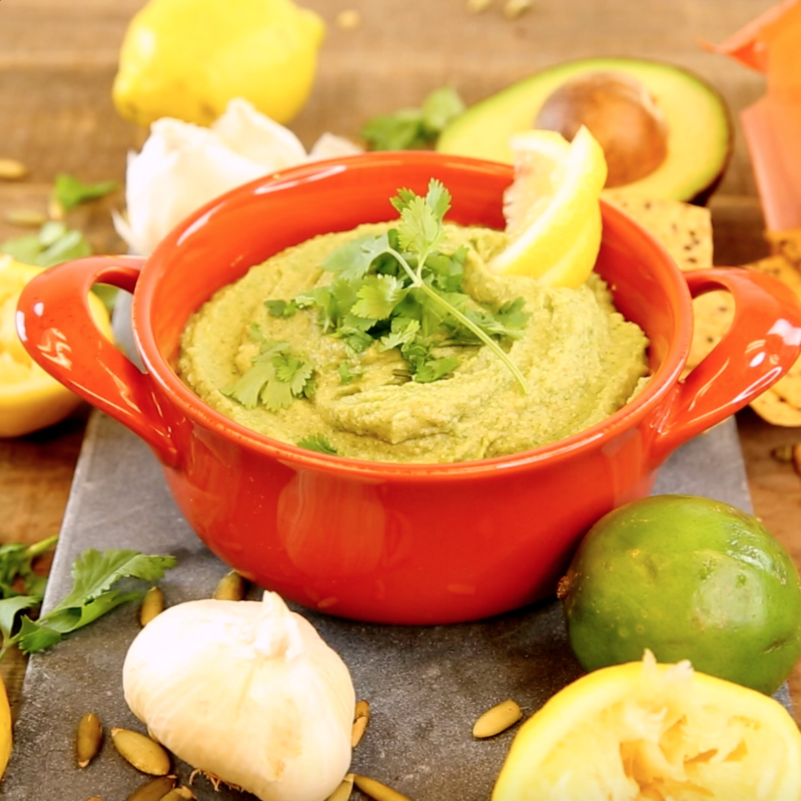 This jalapeño hummus recipe is the only solution for a hot summer