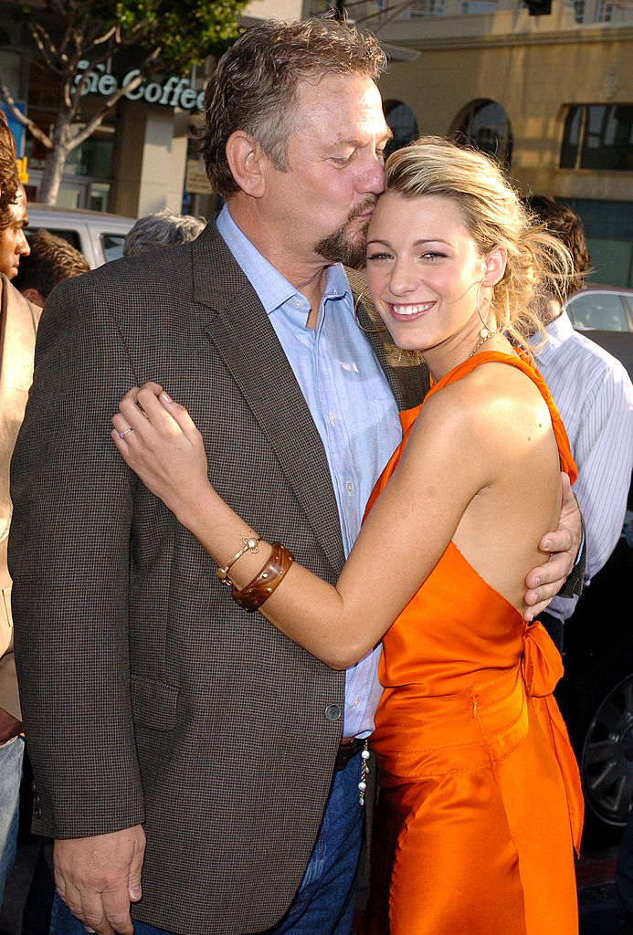 Blake Lively and her dad celebrate their relationship with ...