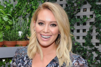 "Hilary Duff's son Luca wants you to know that he's a huge ""Ghostbusters"" fan"
