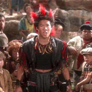 "FYI, Rufio from ""Hook"" grew up to be a super suave adult"