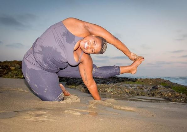 Meet the inspiring yogi who proves you don't need to be slim to be healthy