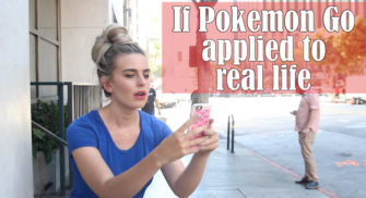 If PokemonGo Applied to Real Life