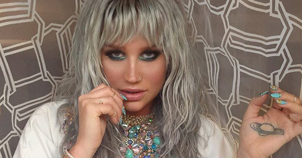 Kesha just launched a new music project and it sounds creepy (and awesome) as hell