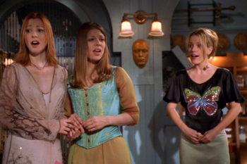 """This """"Buffy"""" alum is painting an all-too-real picture of motherhood"""