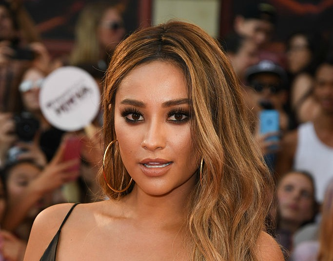 Shay Mitchell went gold-strawberry blonde, and we're INTO it