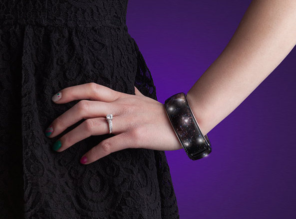 Wanna wear the entire actual night sky on your wrist? Because now you can