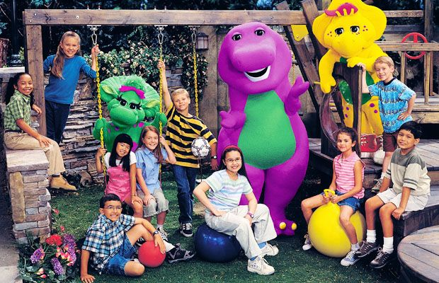 "Never forget that Selena Gomez and Demi Lovato started out on ""Barney & Friends"" and it was awesome"