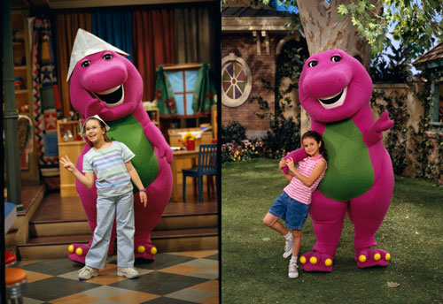 Barney Forget Selena Gomez Demi Lovato Started   Awesome
