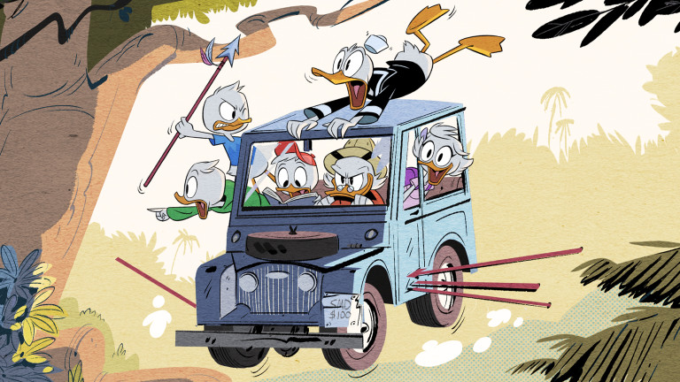 It's a duck blur with DuckTales' new look and we're here for it