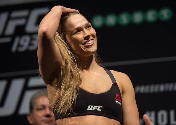 Ronda Rousey wrote about how *important* it is to love your flaws