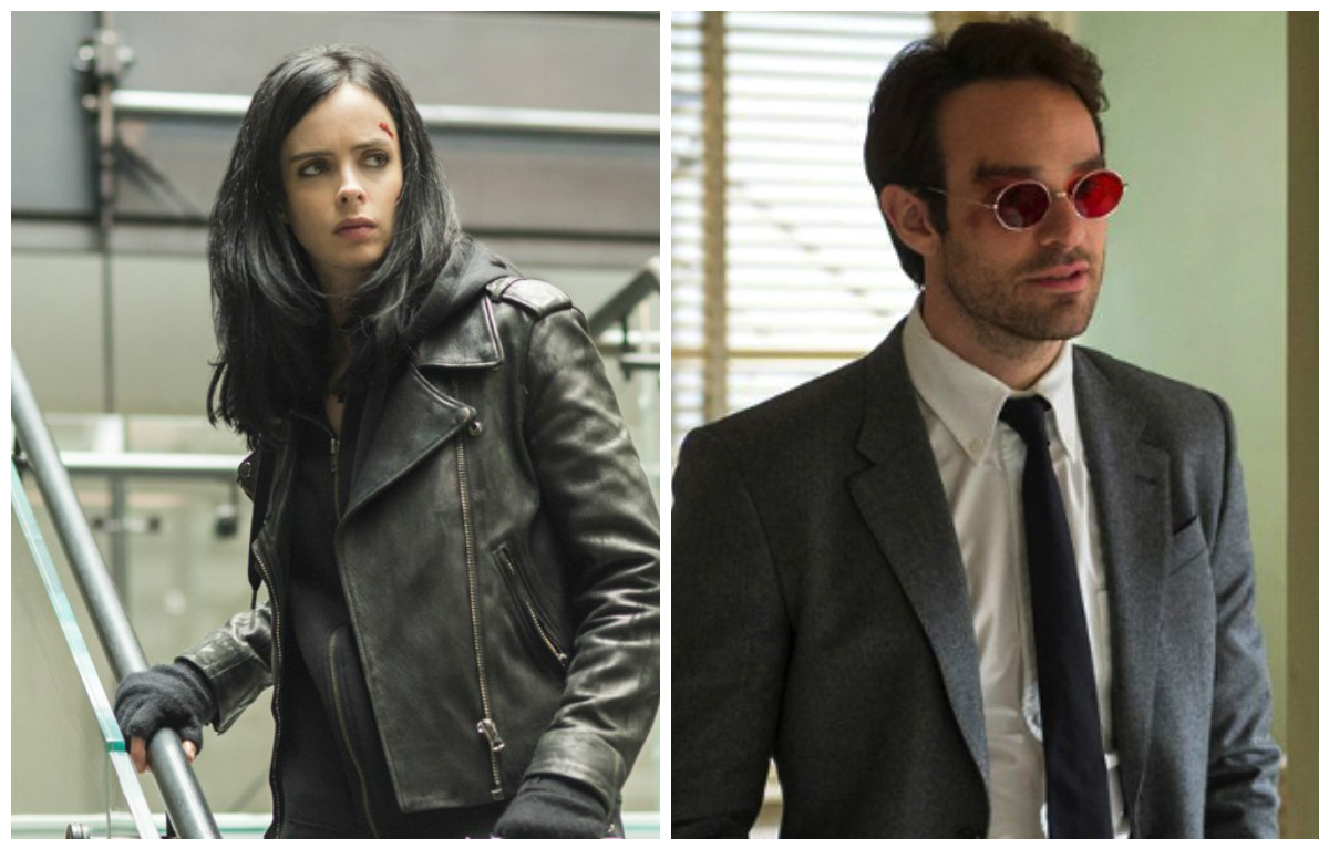 "Jessica Jones and Daredevil are teaming up for Marvel's ""The Defenders"" and we are here for it"