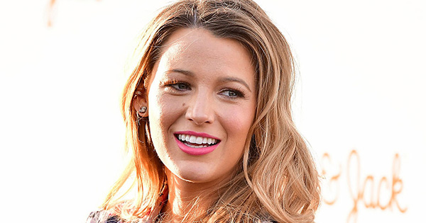 Blake Lively looks *so* glorious in this floral dress and we're living for it