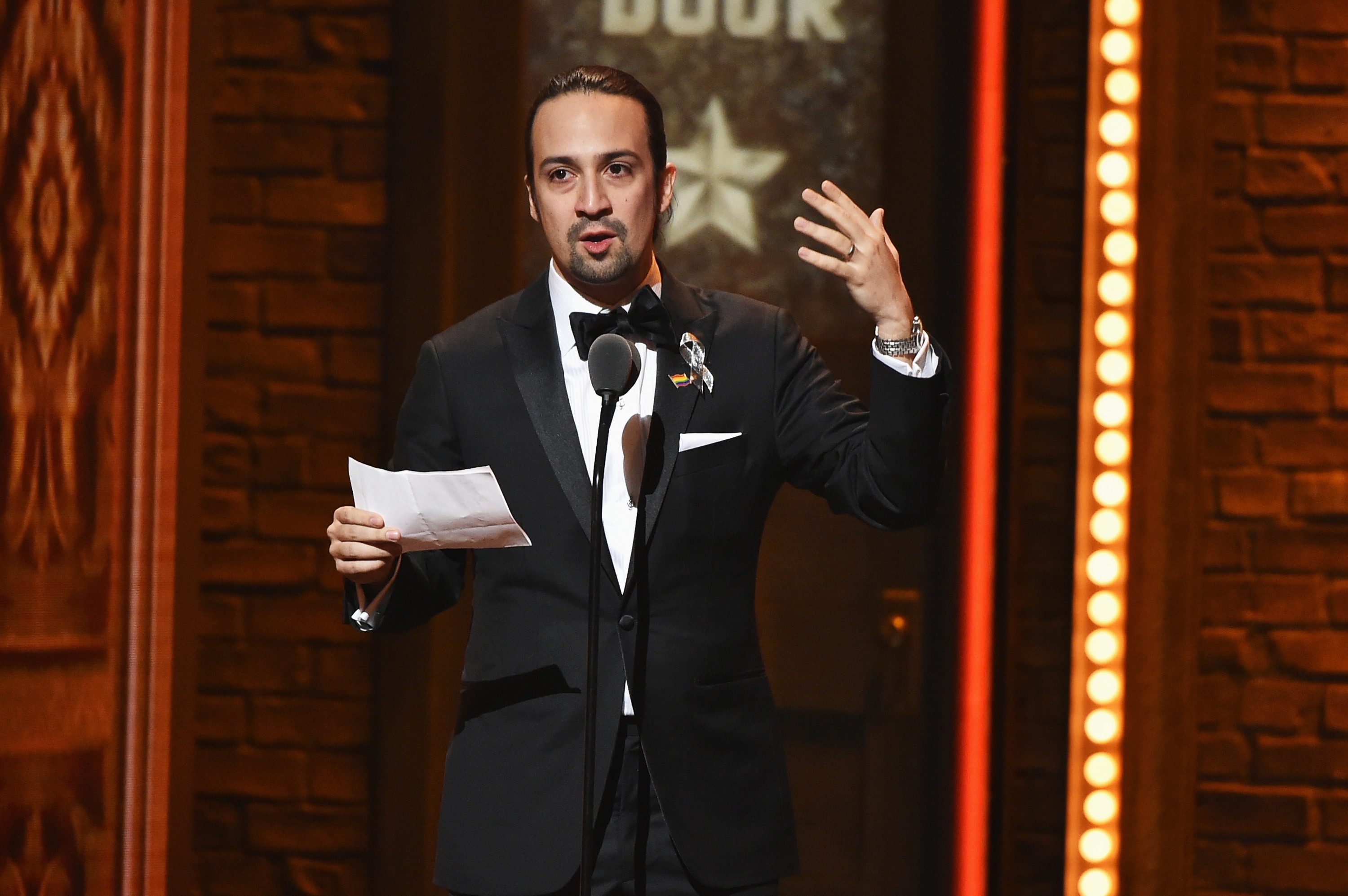 Lin-Manuel Miranda is going to be on 'Drunk History' telling—duh—the story of Hamilton and Burr