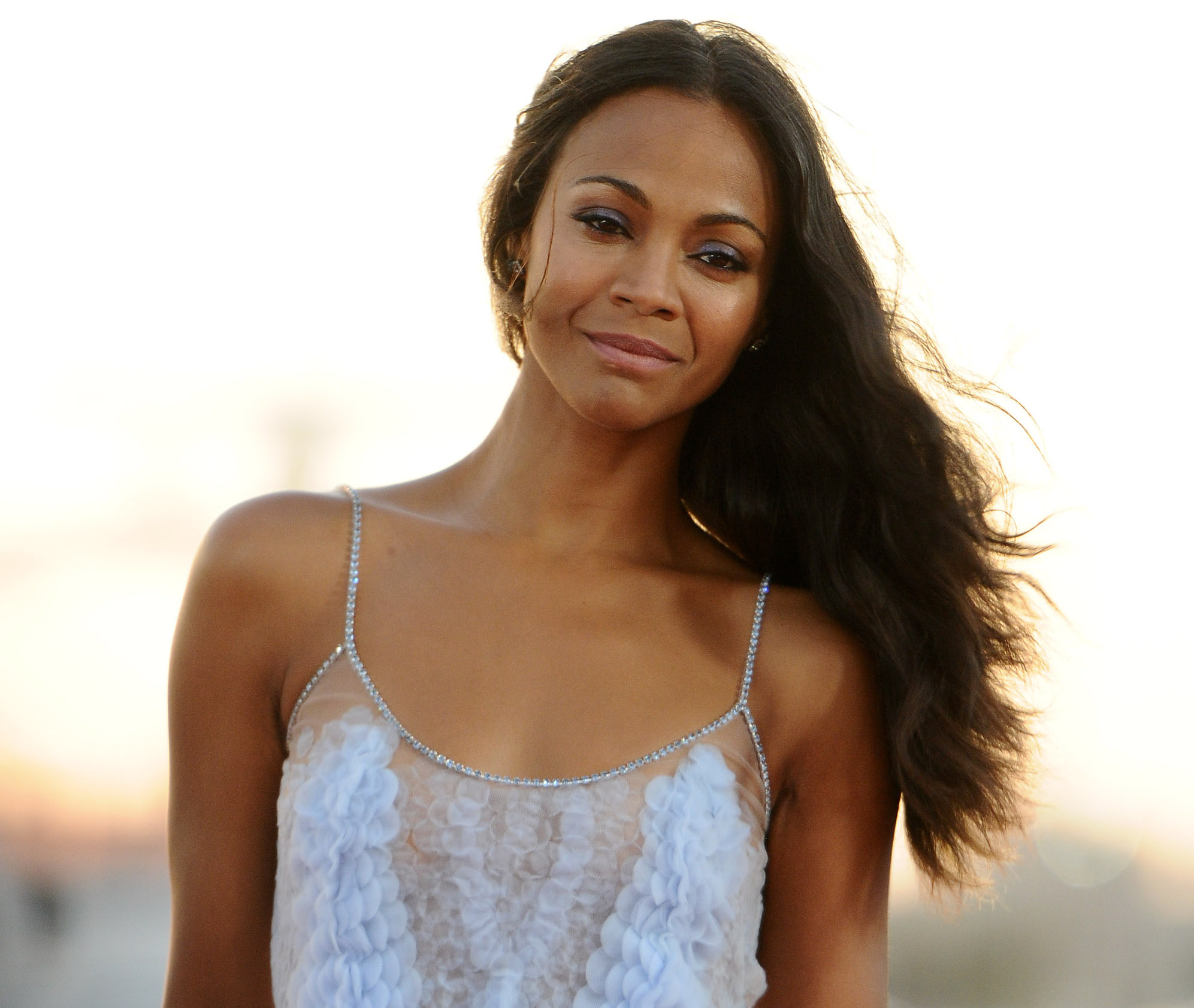 "Zoe Saldana believes having a vagina means ""your life is ... Zoe Saldana"