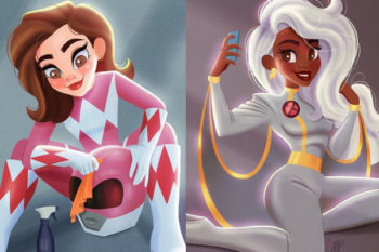 This artist reimagined your favorite female heroes as teens and it's crazy adorable