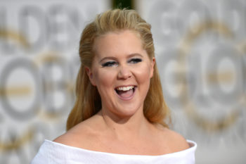 Amy Schumer shared her old volleyball recruiting vid, wins #tbt forever