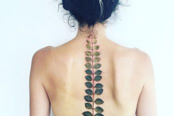 17 spine tattoos that make for beautiful backbones
