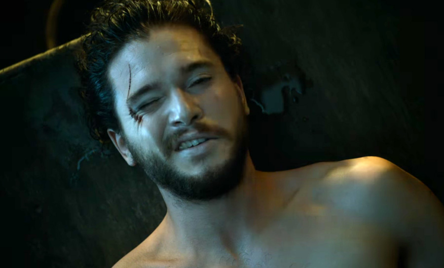 "The ""Game of Thrones"" Season 6 blooper reel is here, and FYI Jon Snow wasn't actually naked (boo!)"