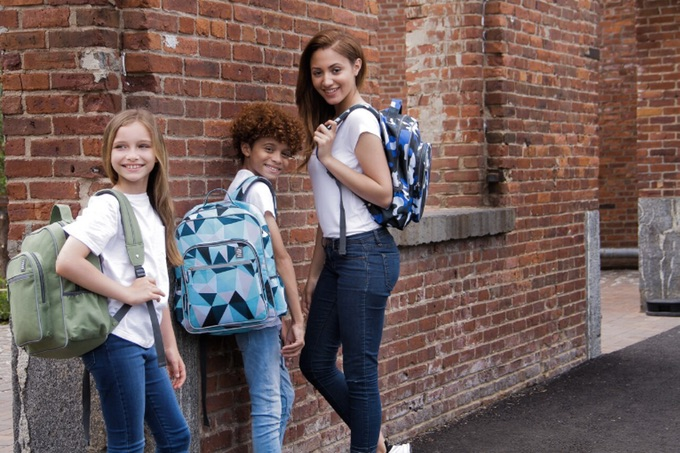 Just in time for school, this designer is making gender-neutral backpacks