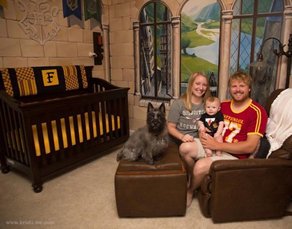 "This ""Harry Potter"" nursery is everything we have ever wanted"