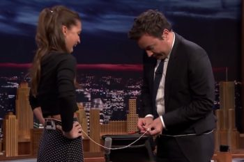 Alicia Vikander taught Jimmy Fallon a hilarious and bizarre drinking game