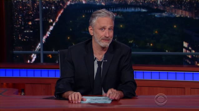 Jon Stewart thinks the election is just as absurd as we do — and he has some important advice about voting