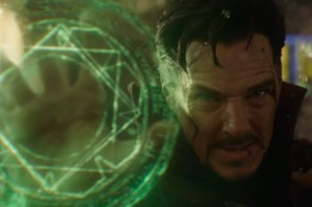 "Benedict Cumberbatch can do anything, like bends time and space, in the first trailer for ""Doctor Strange"""
