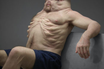 "This sculpture of a ""crash-proof human body"" is seriously freaking out the internet"