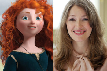 Princess Merida IRL (Kelly MacDonald) is the true queen of vintage red carpet looks