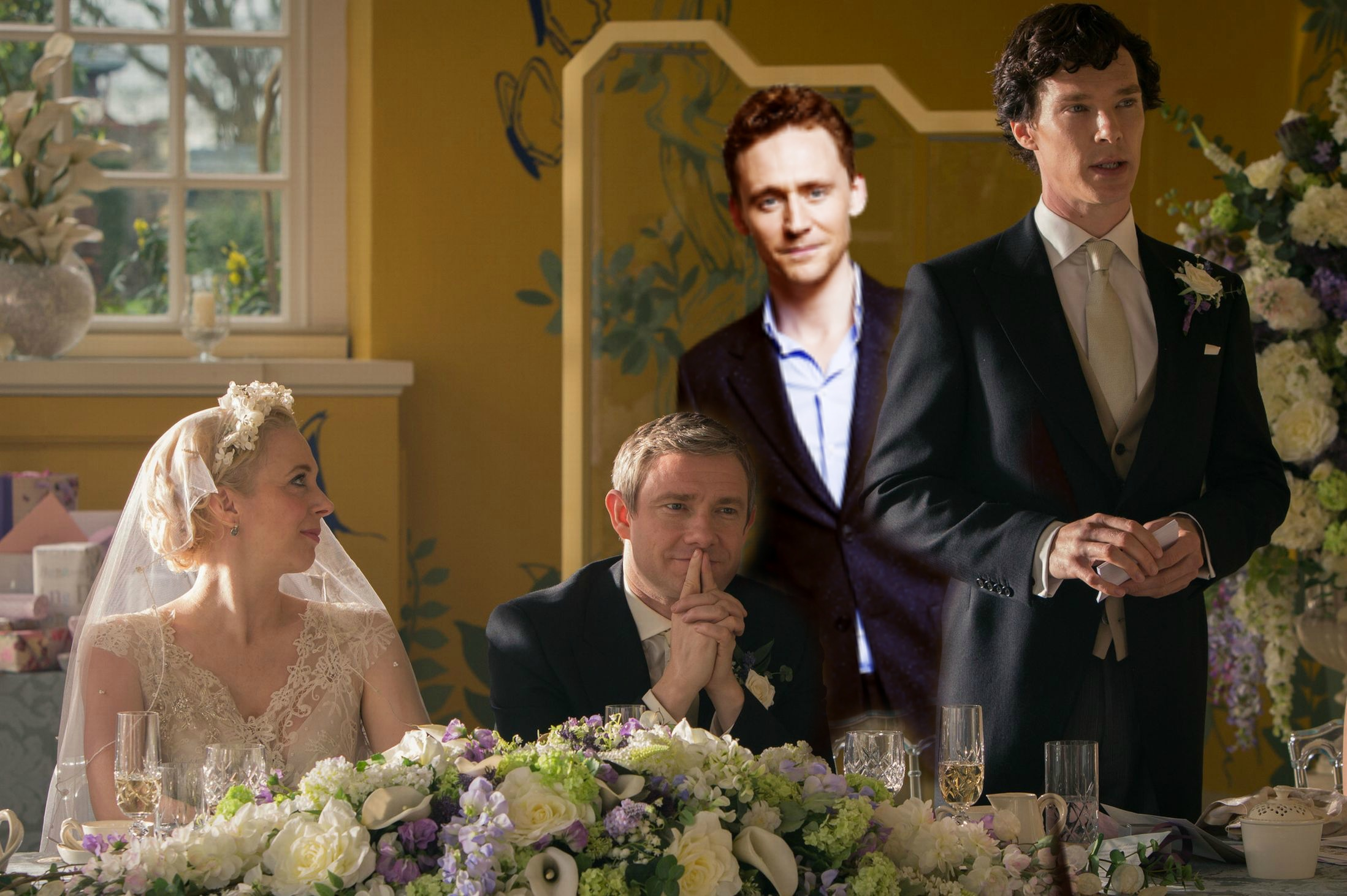 "Here's some evidence that Tom Hiddleston is joining ""Sherlock"" Season 4"