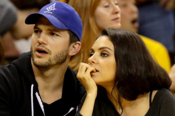 """Here's some adorably awkward photos of Mila Kunis and Ashton Kutcher from when they were """"just friends"""""""