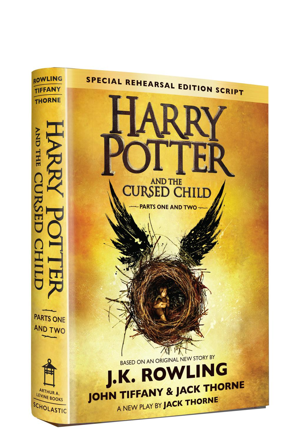 Harry Potter Book Quizzes Scholastic : Quot harry potter and the cursed child has already broken