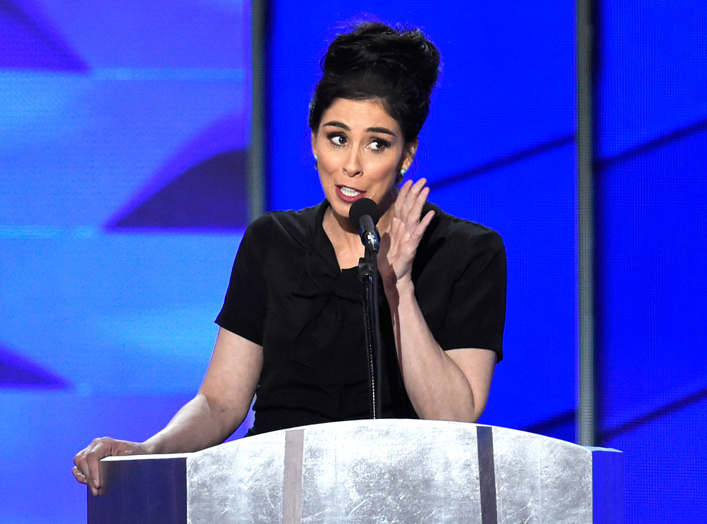 Sarah Silverman responded to boos at the DNC in this *very* important way