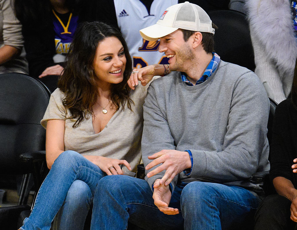 Ashton Kutcher tried to set Mila Kunis up with one of his friends before they started dating